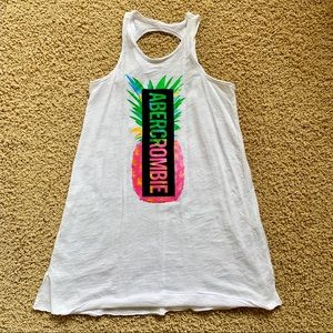 Abercrombie Girl Pineapple Coverup